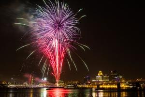 Fireworks in Louisville