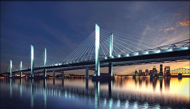 Credit The Ohio River Bridges Project