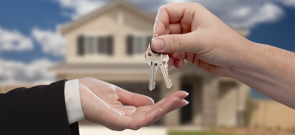 Handing keys over to new owners