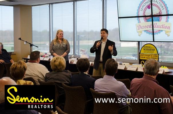Semonin Realtors Dessert Auction